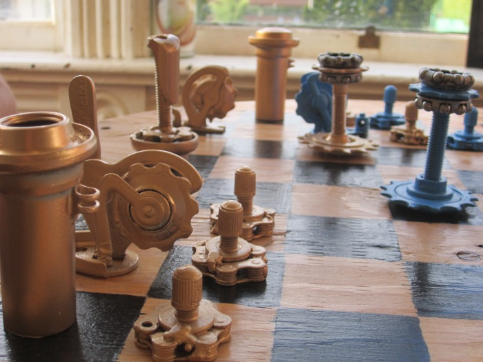 Bicycle Chess Set