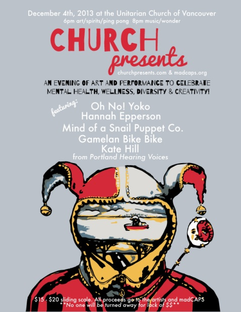 CHURCHpresents: Art + Performance to Celebrate Mental Diversity