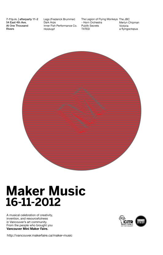 Maker Music 2012