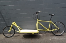 Custom Long John Cargo Bike, built by hand in Vancouver, BC